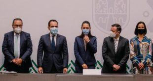 Firma de convenio entre la SHCP, SHF y la Ciudad de México / Cortesía del Gobierno de la Ciudad de México