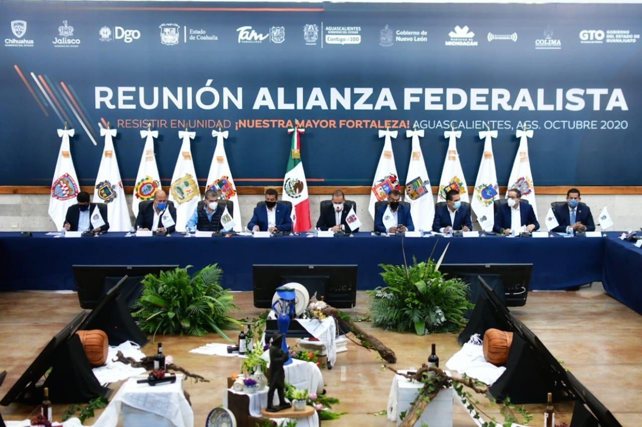 fideicomisos, Alianza Federalista, Debe justificarse mejor desaparición de fideicomisos, dicen gobernadores federalistas