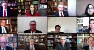 SCJN declara constitucional la consulta sobre juicio a expresidentes