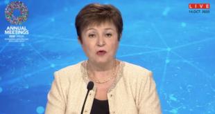 Crisis por Covid-19 costará 28 billones de dólares a economía mundial: FMI