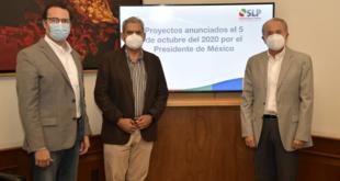 Federación presenta proyecto vial de 766 mdp para municipio de SLP
