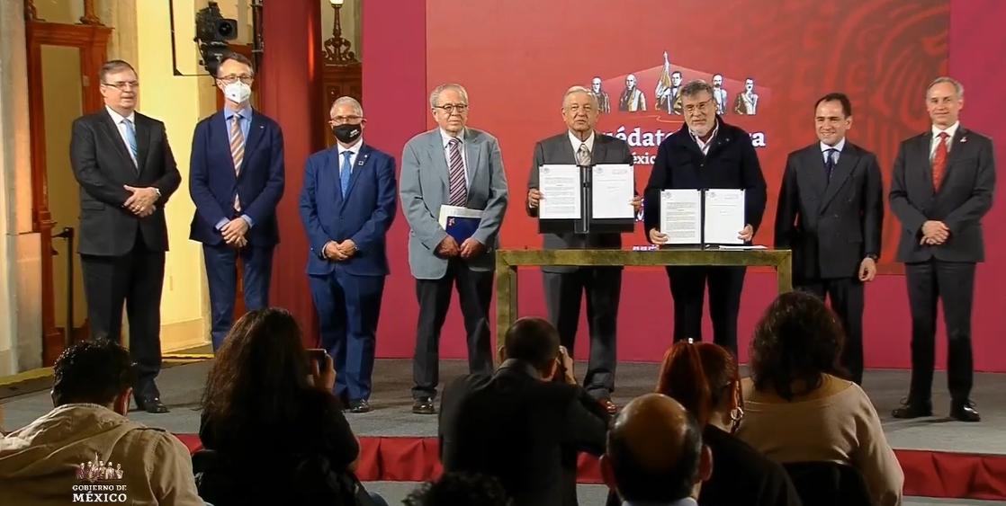 México firma acuerdo con la ONU para la adquisición de medicamentos