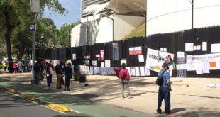 Protestas frente al Senado / Foto: tomada de @sipacide