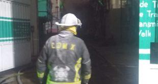 Incendio / @Bomberos_CDMX