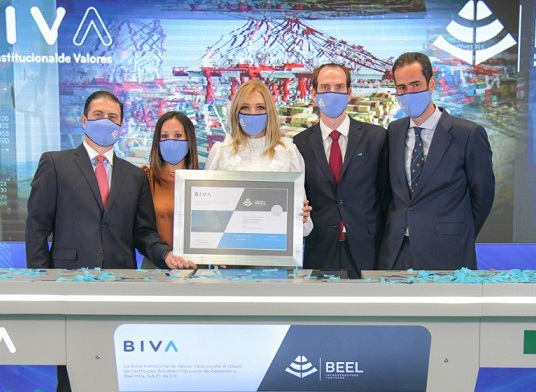 Presentación del CDK de Beel Infrastructure Partners / Foto: Tomada de @BIVAMX / T-MEC