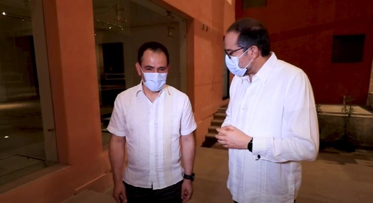 Secretario de Hacienda visita Colima; observa proyectos de infraestructura con el gobernador