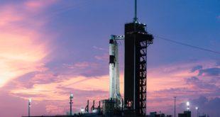 SpaceX se prepara para lanzar a cuatro astronautas al espacio