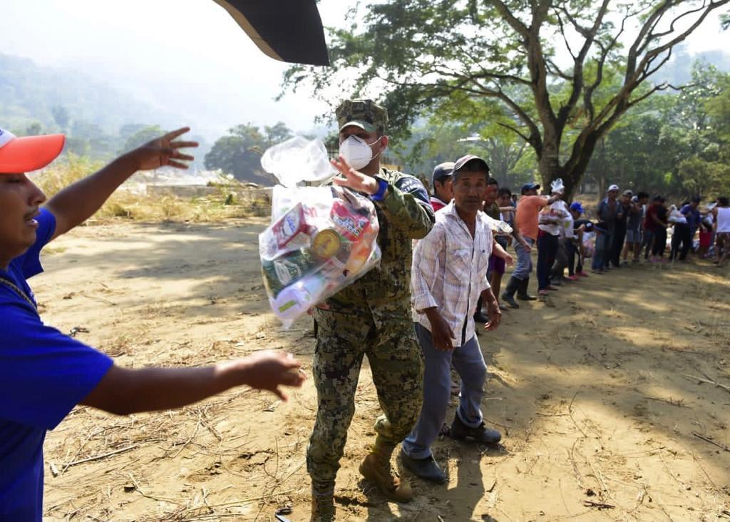 Sedena manejará donaciones para damnificados en Tabasco