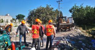 Trabajos en Central de Huexca / @CFEmx