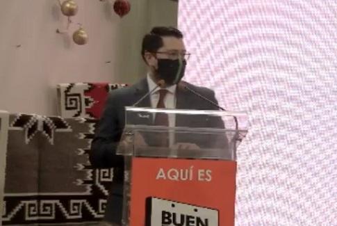 Carlos Martínez Velázquez / Foto: Tomada de @Concanaco