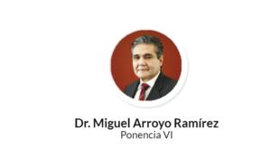 Fallece Miguel Arroyo, consejero de la Judicatura del Tribunal Superior de Justicia CDMX