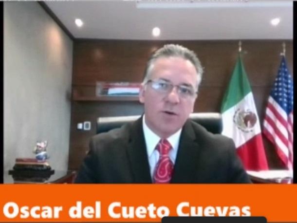 Óscar del Cueto / Foto: Tomada de 18 foro México Cumbre de Negocios