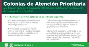 Añade CDMX 12 colonias a su programa de Atención Prioritaria por Covid-19