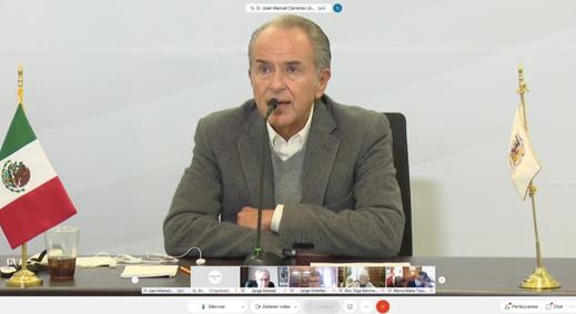 Conago y federación coordinan acciones para reforma laboral