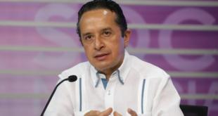 Si bajamos la guardia, nos alejaremos de semáforo verde, dice gobernador de Quintana Roo