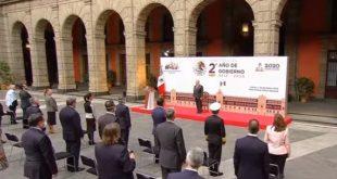 Discurso de Andrés Manuel López Obrador, se refirió a la oposición