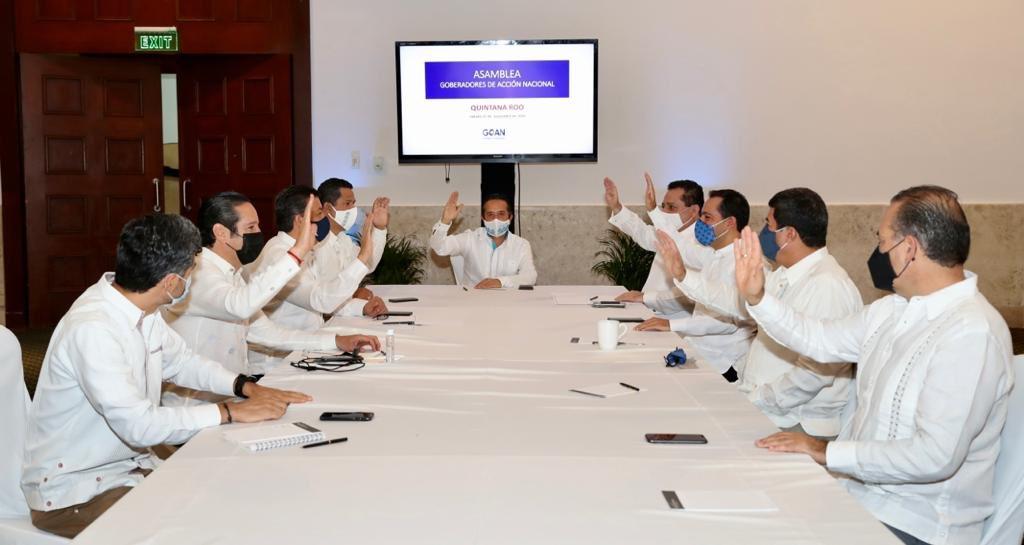 Gobernadores panistas rechazan reforma de AMLO a Ley de Seguridad Nacional