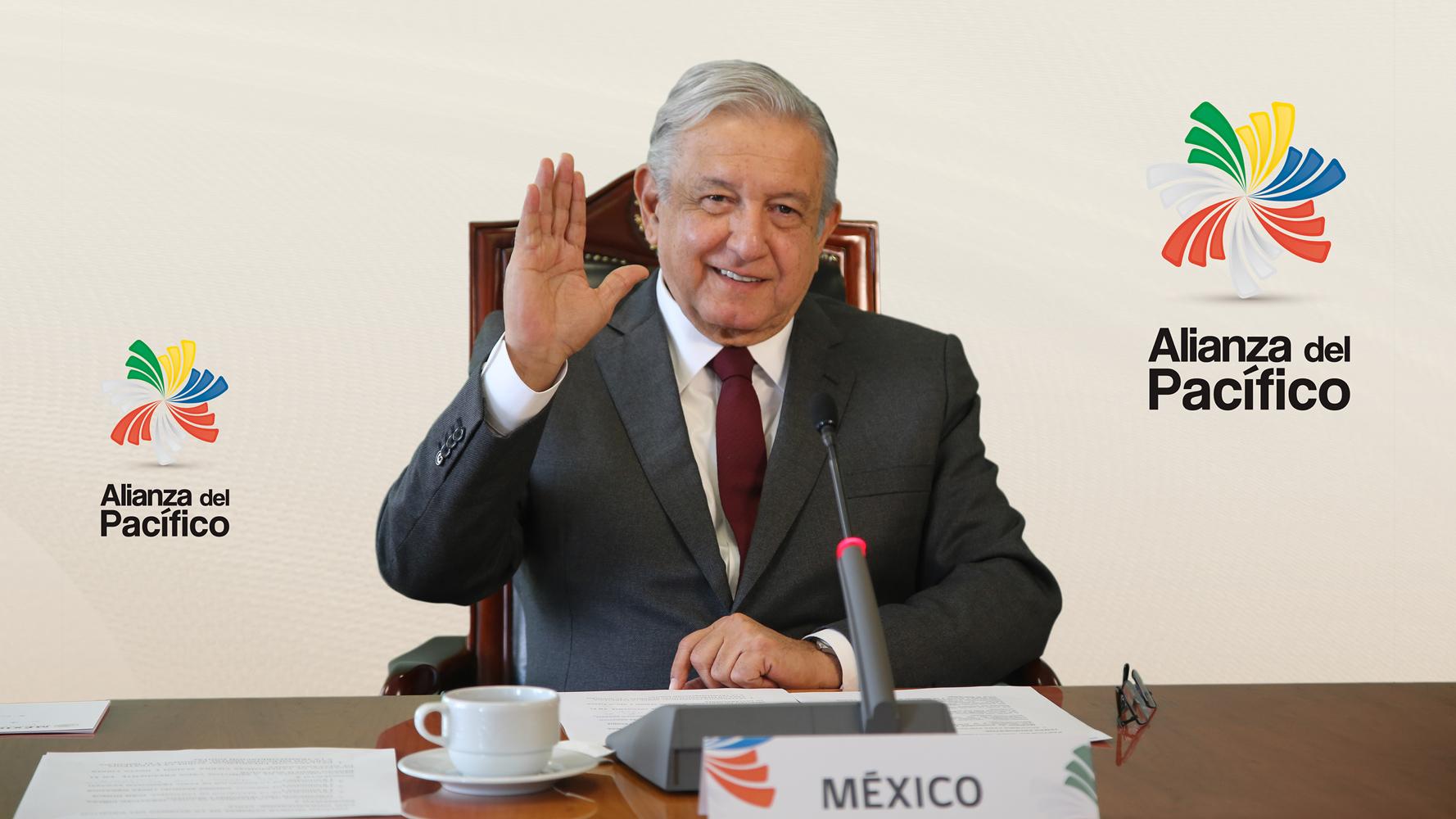 """""""Tenemos que reinventarnos"""", exhorta AMLO a Alianza del Pacífico"""