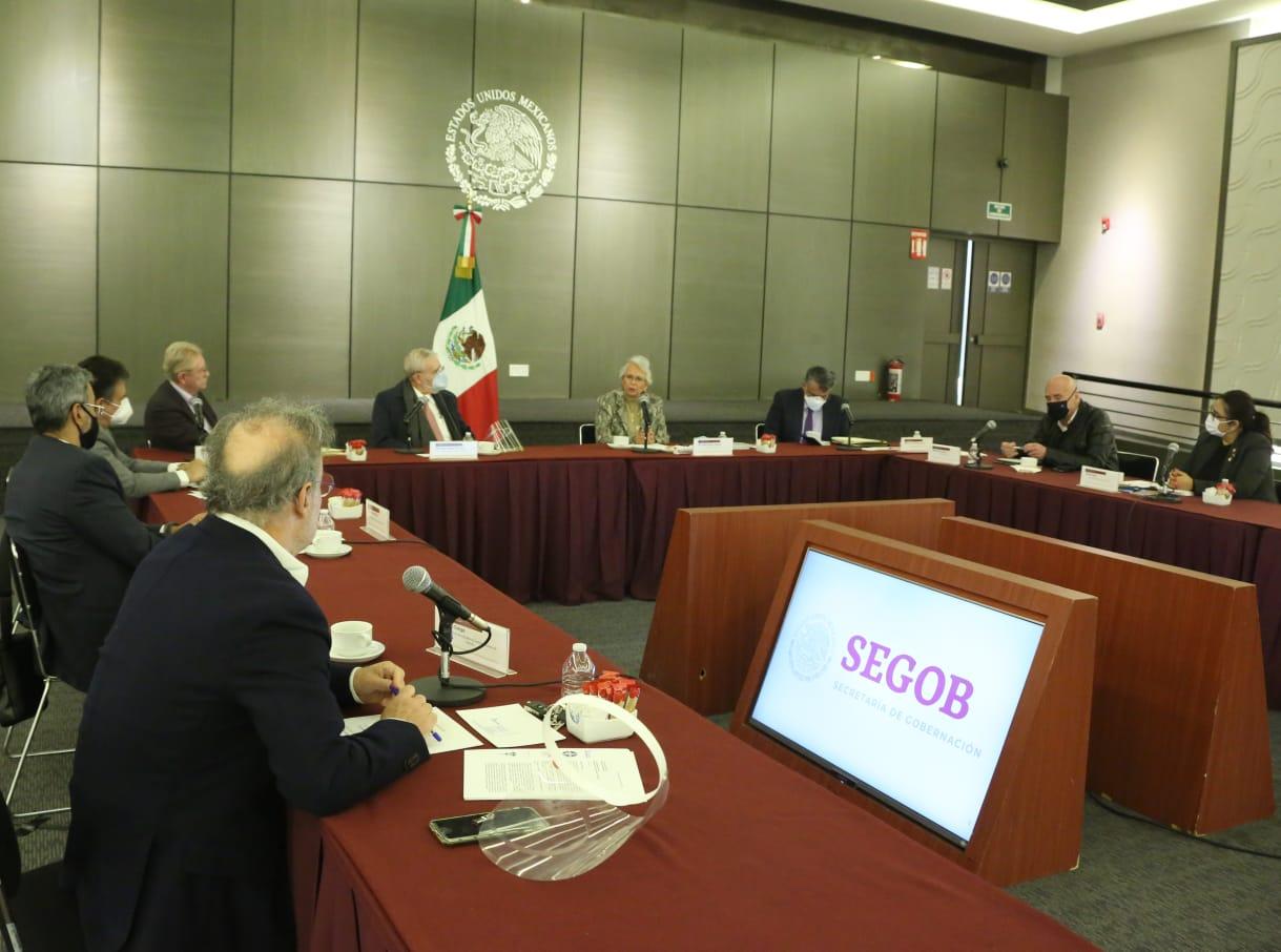Gobierno se reunió con trabajadores de Mexicana
