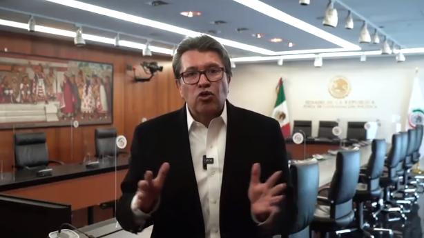 Defiende Monreal reforma a Ley del Banxico, pero no limitará su análisis y discusión