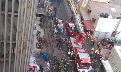 incendio en el Metro / @SGIRPC_CDMX
