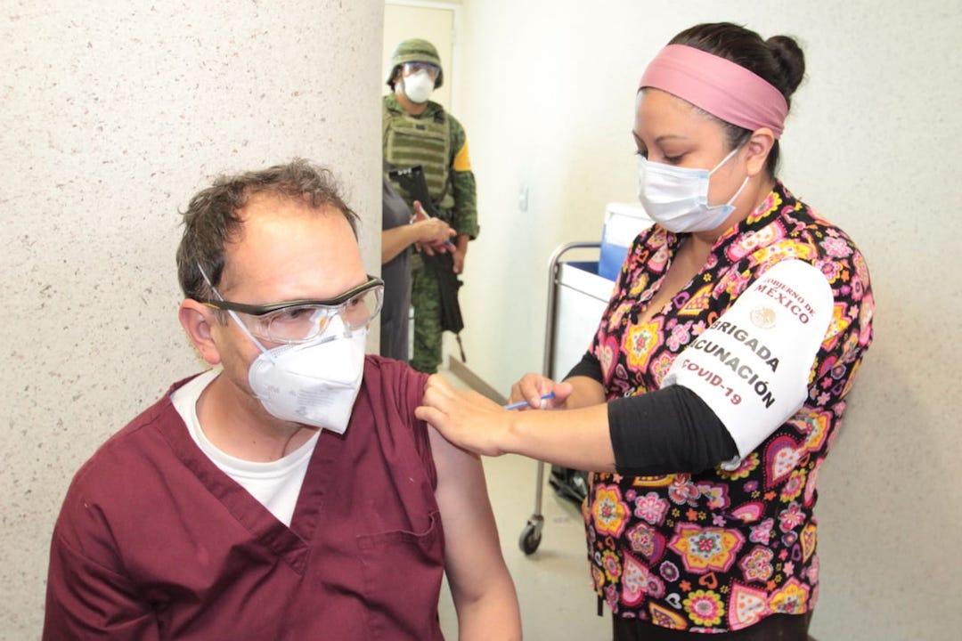 Vacunación contra el Covid-19 / CDMX