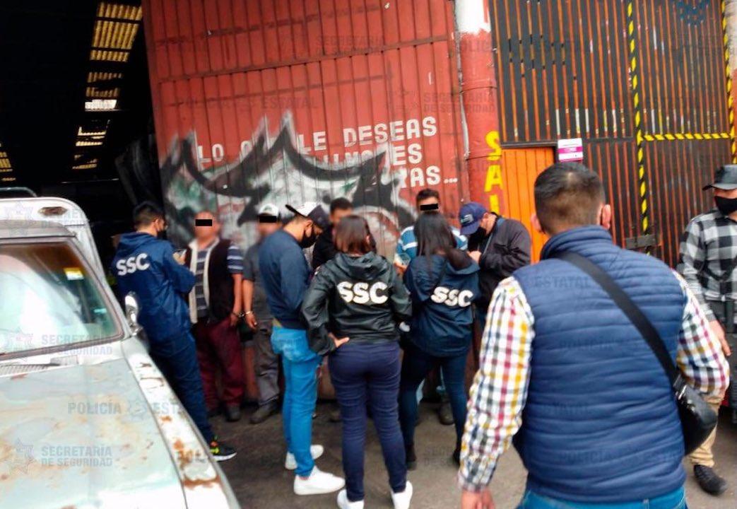 Operación policiaca / @SSC_CDMX