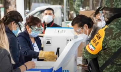 Llegan vacunas a 94% de los hospitales programados