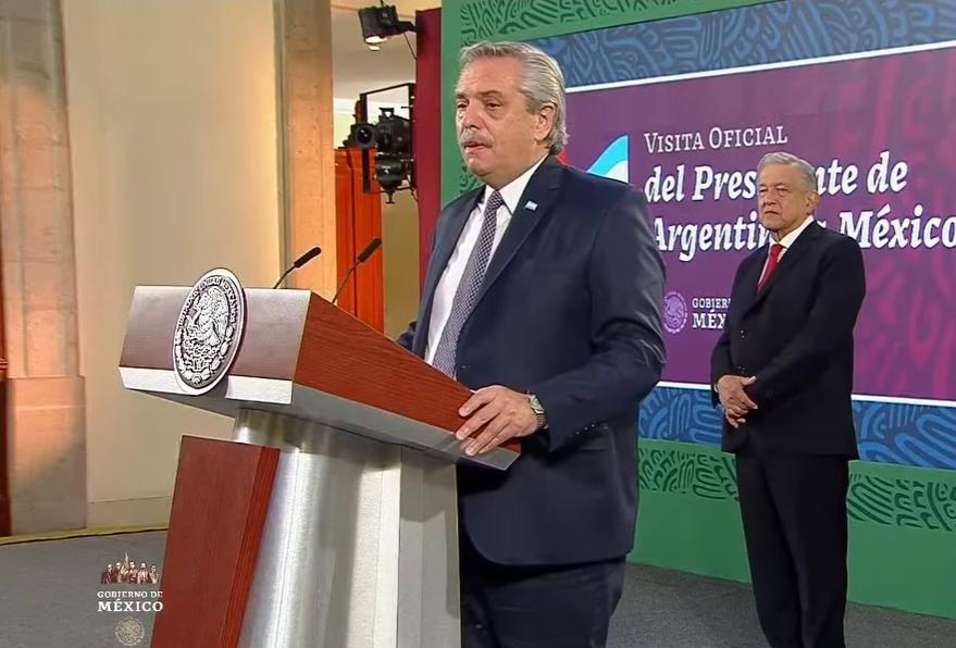 """Es mi obligación y de AMLO que Argentina y México """"encarnen un futuro común"""": Fernández, Argentina"""
