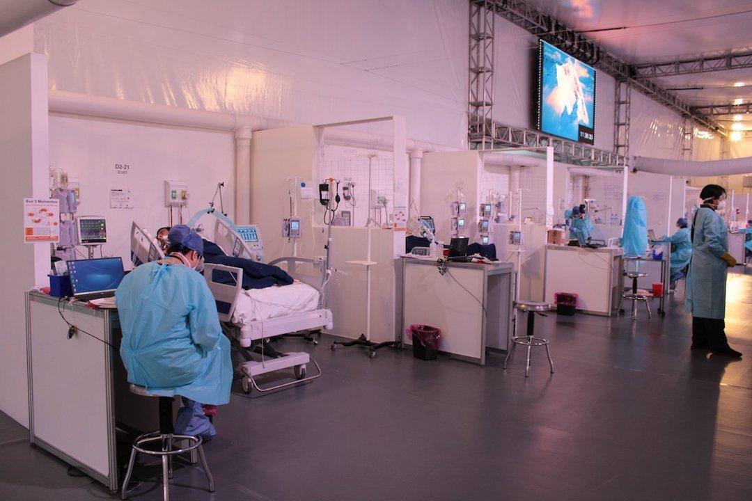 Hospital Covid-19 / CDMX / vacunas