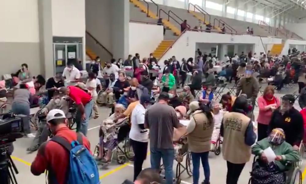 SLP, Vacunación en Ecatepec