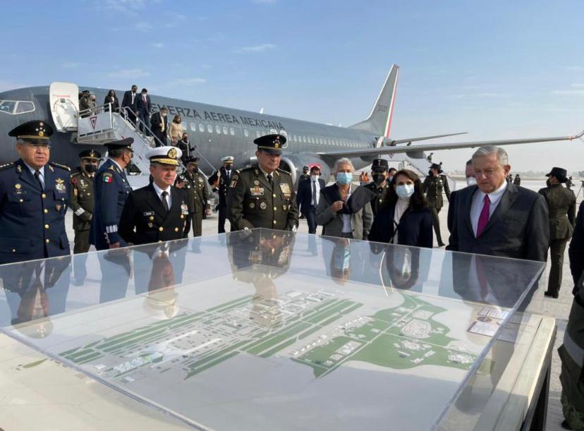 Inauguración del Aeropuerto Internacional General Felipe Ángeles