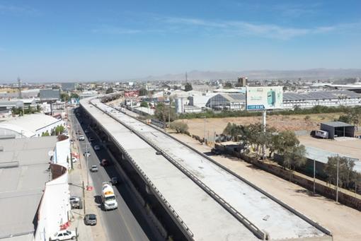 Ayuntamiento de SLP mantiene obra pública con 430 mdp menos