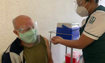 SLP, Vacunación contra Covid-19 / IMSS