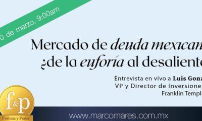 Mercado de deuda mexicana, ¿de la euforia al desaliento?