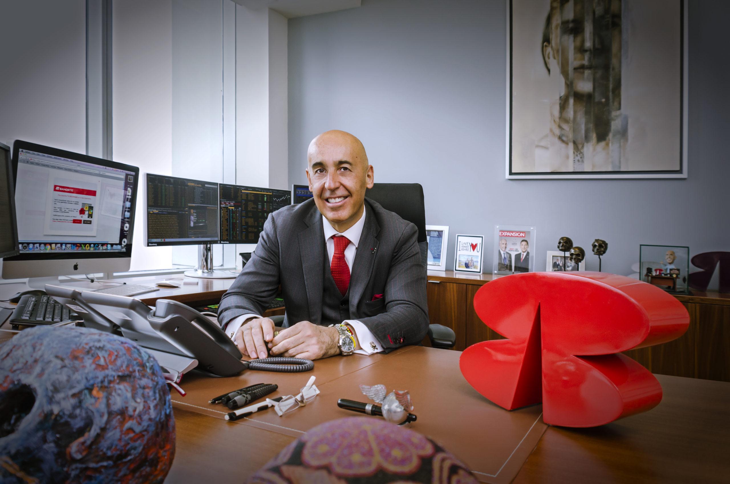 Marcos Ramírez Miguel, director general de Grupo Financiero Banorte