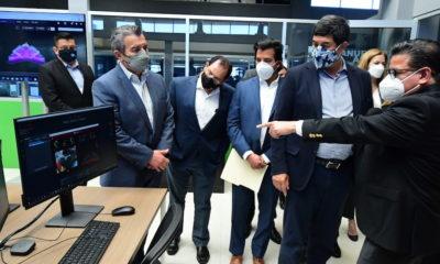 Inauguraron el Centro de Innovación Industrial para el Sector Aeroespacial en Chihuahua / @Javier_Corral