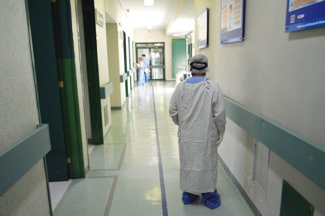Hospital de atención a pacientes de Covid-19 / Gobierno de Guanajuato