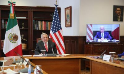 Reforma eléctrica no fue tema en reunión AMLO-Biden