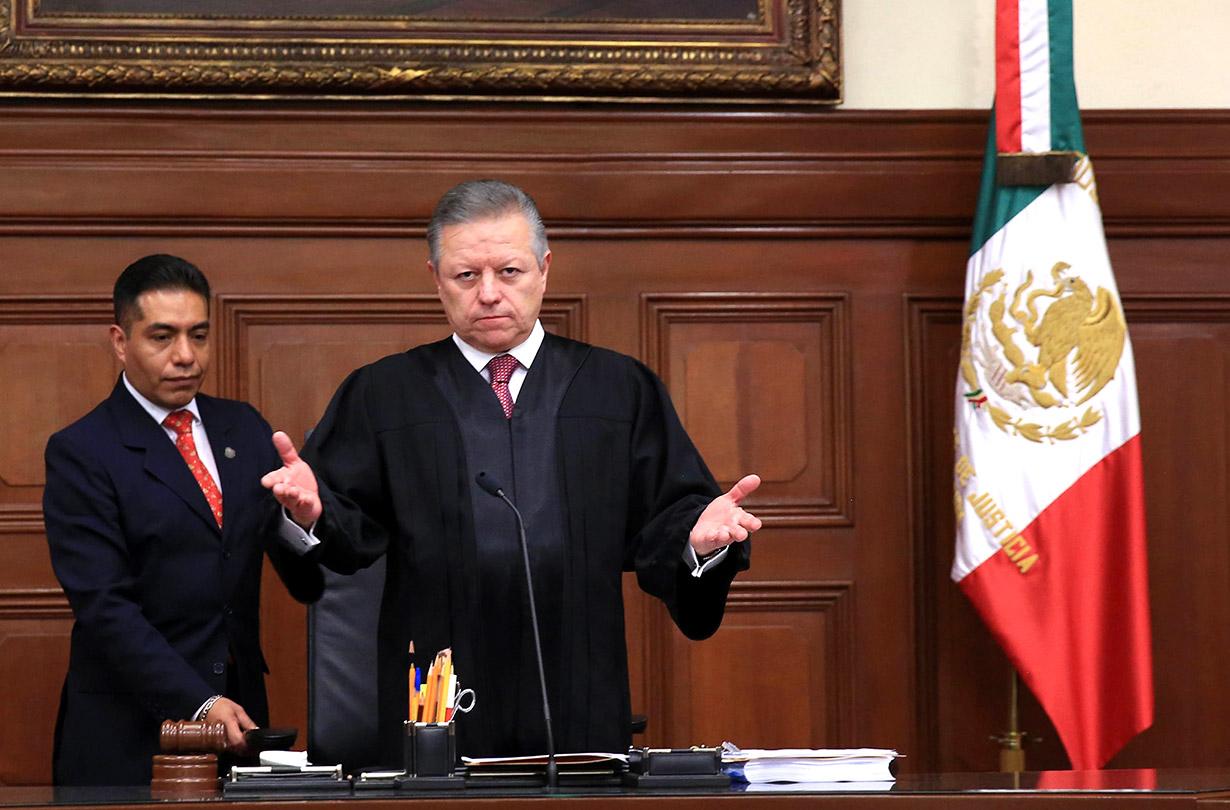Habla Zaldívar; reclamos por extensión de mandato quedan en manos de la SCJN, dice