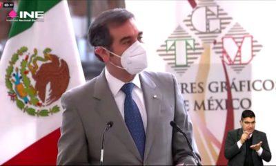 Lorenzo Córdova / presidente de INE