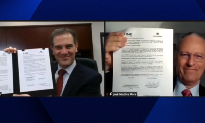 Coparmex e INE firman acuerdo para promover el voto responsable