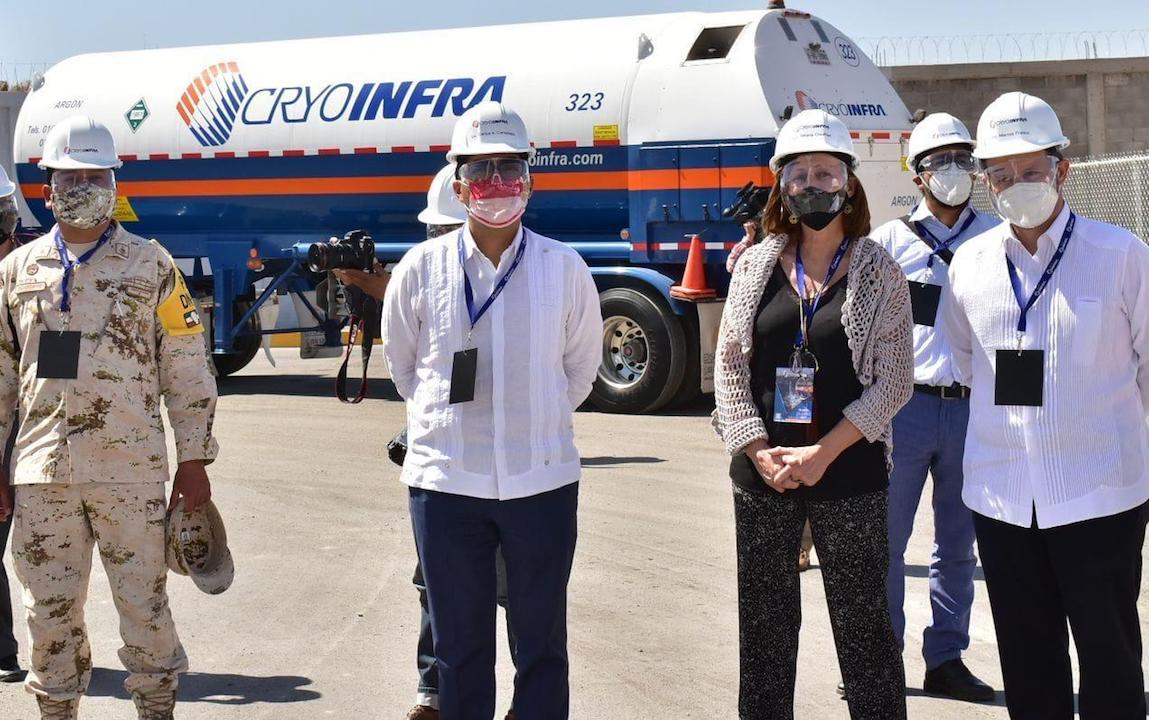 Inauguración de planta de Grupo Infra / @GrupoInfraMX