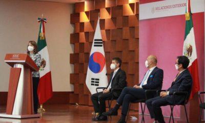 Donación de insumos médicos de Corea del Sur a México / SRE