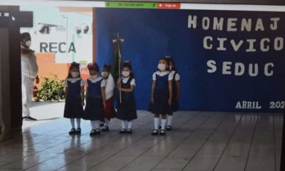 CDMX, Alumnos regresan a clases en Campeche / @SEDUCampeche