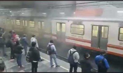El metro de nuevo; reportan humo en estación Pantitlán
