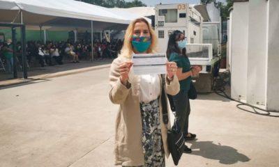 Beatriz Gutiérrez Müller ya recibió vacuna contra el COVID