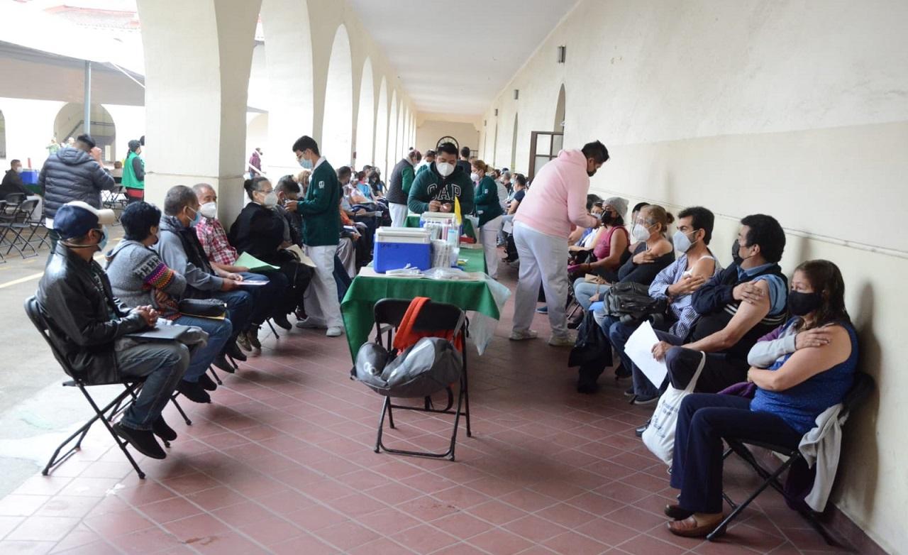 CDMX, Centro de vacunación contra Covid-19 / CDMX