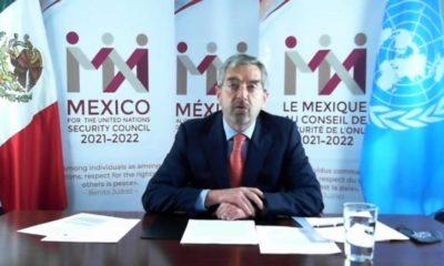 Juan Ramón de la Fuente / @MexOnu