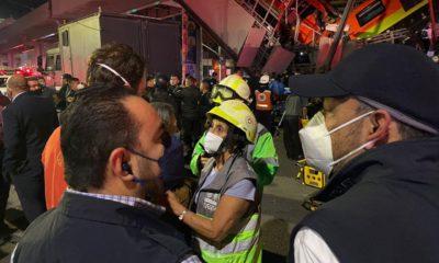 """""""Una trabe se venció"""": Claudia Sheinbaum sobre desplome de tren del Metro"""
